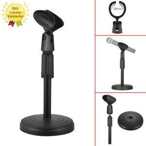Mikrofon Tisch Stativ Mikrofonständer Micro Ständer Mikro Halter Studio Stand DE