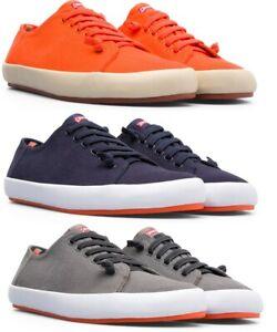 Camper Men's Peu Rambla Classic Canvas Comfort Sneakers Casual Shoes NEW