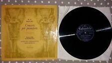 Mozart Concerti per Pianoforte W. Gieseking H. Rosbaud LP 33 Columbia 33QCX10181