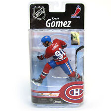 McFarlane NHL Serie 25 Scott Gomez Montreal Canadiens Red Jersey
