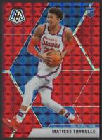 2019-20 Panini Mosaic Choice RED FUSION #245 Matisse Thybulle RC 86/88 Rookie