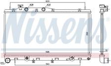 Kühler, Motorkühlung NISSENS 67739 für SUBARU