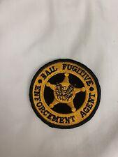 Bail Fugitive Enforcement Officer Patch