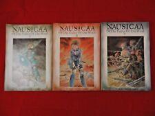 Lot of 3;Nausicaä the Valley of the Wind;V 7-1st PR,V 6-2nd PR,V 5-2nd, Miyazaki