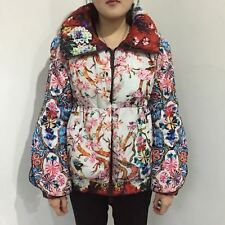 Brand New Moncler Multicolor High Collar Coat Puffer Floral, Special Edition!