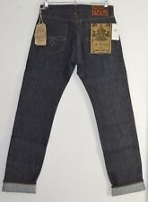 "RRL RALPH LAUREN raw rigid American Selvedge denim Low Straight jeans 30"" x 34"""