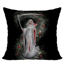Life Blood Gothic Grim Reaper Decorative Pillow Cushion fantasy art Anne Stokes