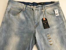 Shank + Rivet Men's Stretch Slim Fit Denim Jeans Size 41x33 Stonewashed NWT