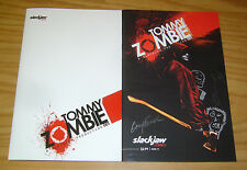 Tommy Zombie #1 VF/NM slackjaw comics one-shot + signed variant w/head sketch