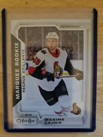 Maxime Lajoie 2018-19 OPC O-Pee-Chee Marquee Rookie Update #641 RC Ottawa
