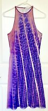 VIVIENNE TAM 90s Vintage Space Dye Shimmery Mesh Dress XS/S