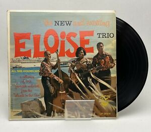 Artist Signed ELOISE TRIO: for The New And Exciting LP (Bahamas,