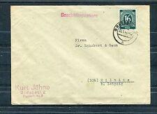 Bedarfsbrief Alliierte Besetzung 16 Pfg. Ziffern - b1201