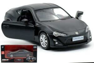 1:36 BLACK Toyota 86 Sports Car Vehicle Pull Back Collection Model Diecast Toy