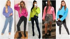 UK Womens Baggy Oversized Jumper Pullover Top Sweater Sweatshirt Ladies Knitwear