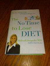The No Time to Lose Diet by Melina Jampolis (2006, Hardback) #F8