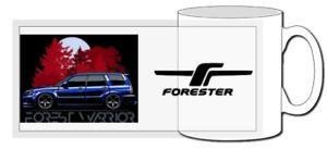 Subaru forester sti mug, classic car, jdm, ej20, newage, sg9, impreza, wrx, sf5