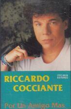 Riccardo Cocciante Por Un Amigo Mas Cassette