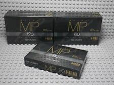 5 K7 Audio Tape Hi8 Mp Sharp - Neu Ovp