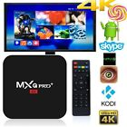 MXQ PRO + 4K Amlogic S905 2.0GHz Quad Core 2+16G Android Smart TV Box HDMI KODI
