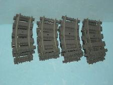 Lego Eisenbahn 9V/RC  Schienen, 36 Stück Kurven (#4520) !!!