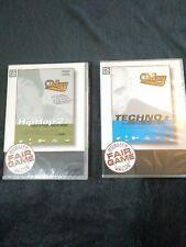PC CD ROM EJAY BUNDLE EJAY HIP HOP 2 AND EJAY TECHNO 2 NEW IN WRAP STORAGE MARKS