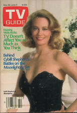 1987 TV Guide May 30-June 5 Cybill Shepherd Moonlighting