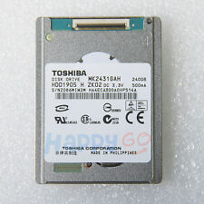 "NEW 1.8"" TOSHIBA HARD DRIVE MK2431GAH 240GB HDD1905  For SONY HDR-XR550E XR520E"