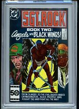 Sgt Rock #406 CGC 9.8 White Pages Tribute to Black Service Members