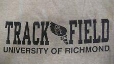 University of Richmond  UR Track & Field Large Gray T-shirt