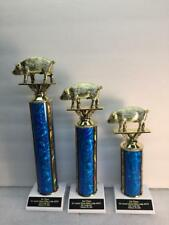 Pulled Pork Cookout BBQ 1st,2nd,3rd Place Awards FREE Engraving 2 Day Shipping