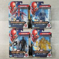 Spider Man Far From Home Action Figure Set of 4 SPIDER-MAN & MOLTEN MAN New