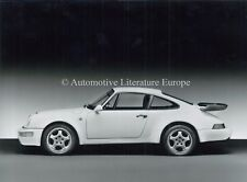 PORSCHE 911 TURBO 964 PRESSEBILD PRESS-PICTURE PERSFOTO ORIGINAL
