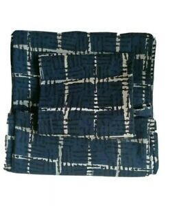 Navy blue Single Bed Duvet and 1 X Pillow Case