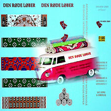 VW T1 Kasten Den Rode Lober for Tekno Model 1:43 Decal Abziehbild