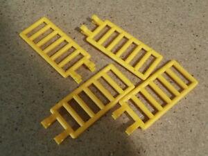 2 x LEGO Ladder 14 x 2.5 Firefighter Ladders 13 Steps - Yellow Part 4207
