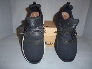 Skechers Men's One Element Ultra Slip On Black Training Shoe NIB Comfortable!!!!