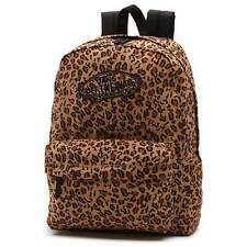 VANS The Realm Backpack (NEW) Leopard ANIMAL PRINT Cheetah SCHOOL BAG Free Ship