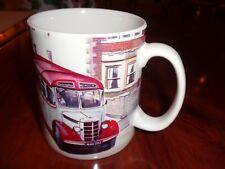 Norfolk China Ceramic Mug BEDFORD OB 'RAMBLING ROSE' BUS
