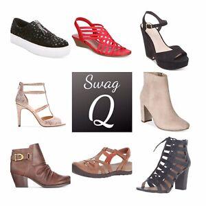 Bulk Wholesale Women Shoes NEW Lot 20 Pairs Authentic Designer Brands for Resale