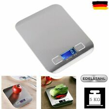 5KG/1G LCD Digitale Küchenwaage Feinwaage Elektronisch Haushaltswaage Edelstahl