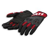 DUCATI Spidi Summer C3 Sommer Leder Textil Handschuhe Gloves schwarz NEU 2021