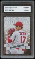 SHOHEI OHTANI 2018 LEAF PRIZED 1ST GRADED 10 ROOKIE CARD MLB LOS ANGELES ANGELS