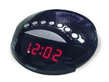 NAXA Electronics NRC-170 PLL Digital Dual Alarm Clock with AM/FM Radio and Snooz