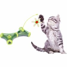 New listing Pet Life Kitty-Tease Interactive Cognitive Training Puzzle Cat Toy Tunnel Tea.