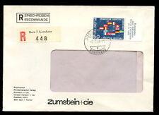 Switzerland 1966 Registered Cover #C3633