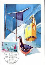 carte postale timbre premier jour région Midi-Pyrénées 1976