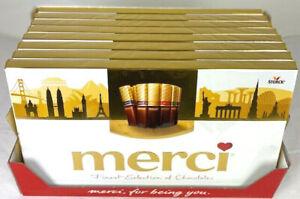 Storck-merci Finest Selection Große Vielfalt 8 x 400g Schokolade, MHD 30.06.2021