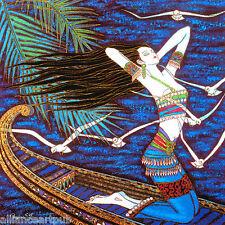 """SEA BREEZE"" Beautiful Oriental Print 45 Color Serigraph S/N By Wu Jian"