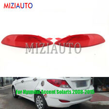 For Hyundai Accent Solaris 08-15 Rear Bumper Reflector Tail Driving Brake Light